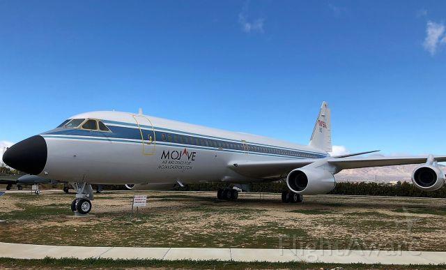 "N810NA — - NASA retired Convair 990-30A-5 ""gate guard"" at Mojave Air and Space Port, CA USA"