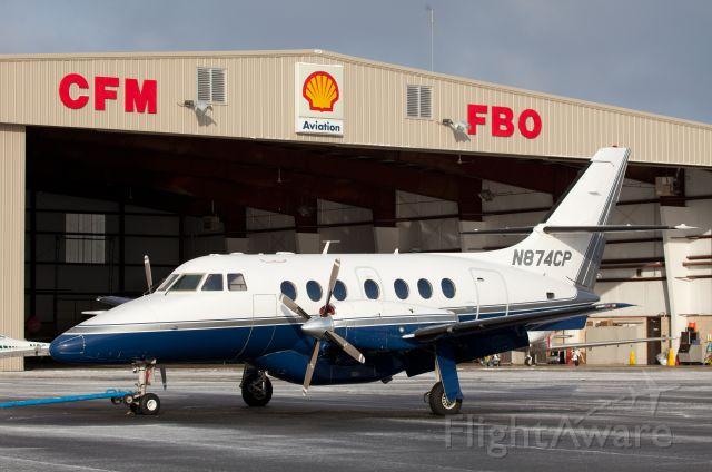 British Aerospace Jetstream Super 31 (N874CP) - At Corporate Flight Management CFM, Smyrna TN.