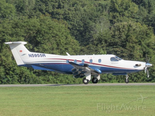 Pilatus PC-12 (N5955R)