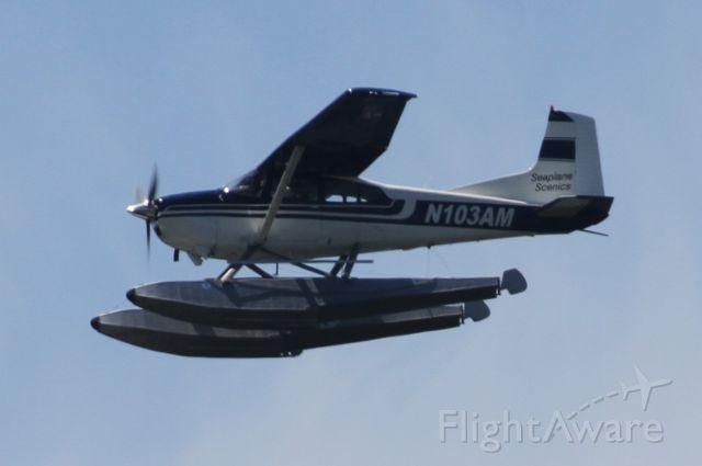 N103AM — - Over Mercer Island, WA
