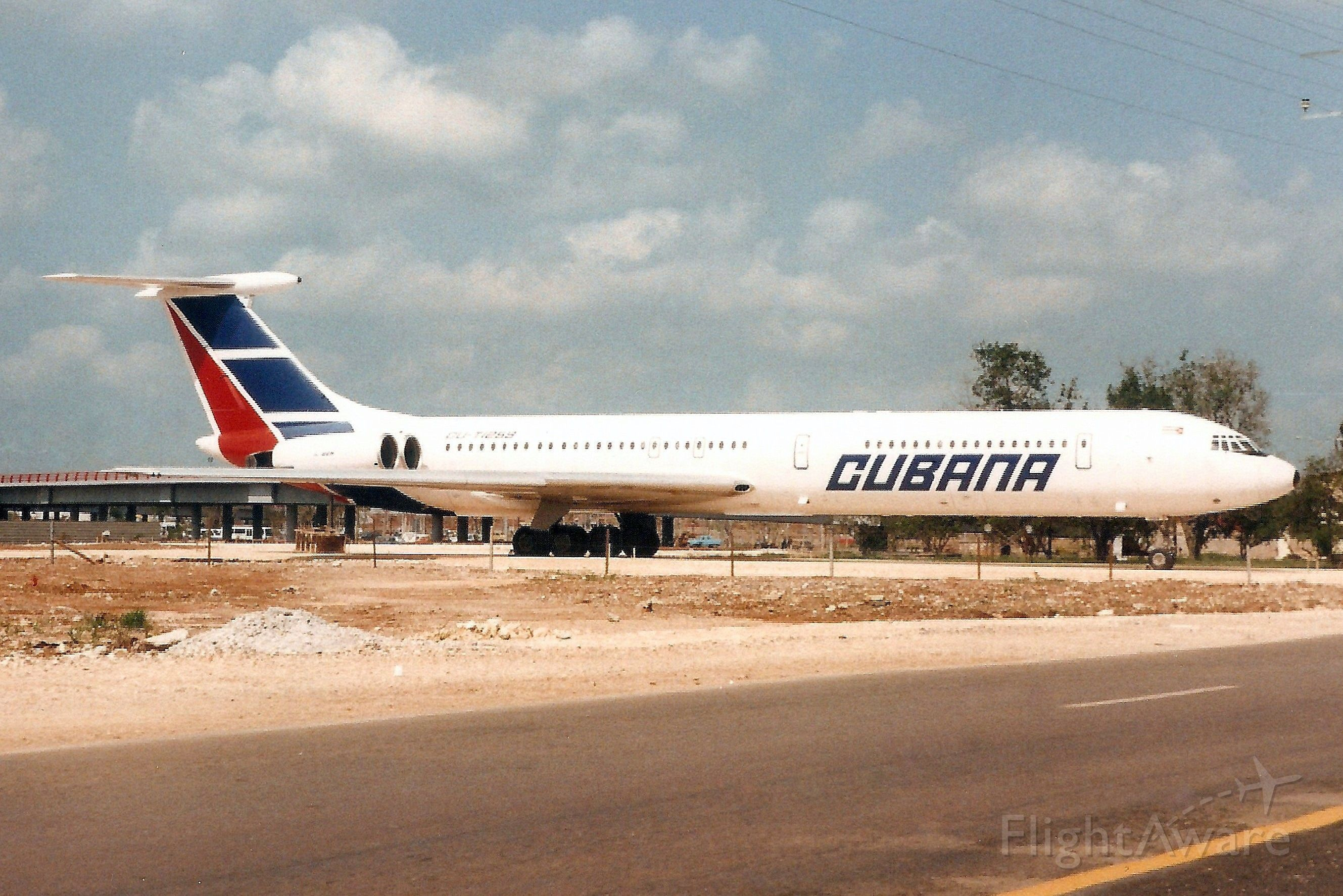 Ilyushin Il-62 (CUT1259) - Seen here on 8-May-98.br /br /With Cubana from Jul-84 to Mar-98.br /Broken up at MUHA.
