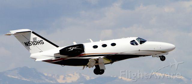 Cessna Citation Mustang (N510HS)