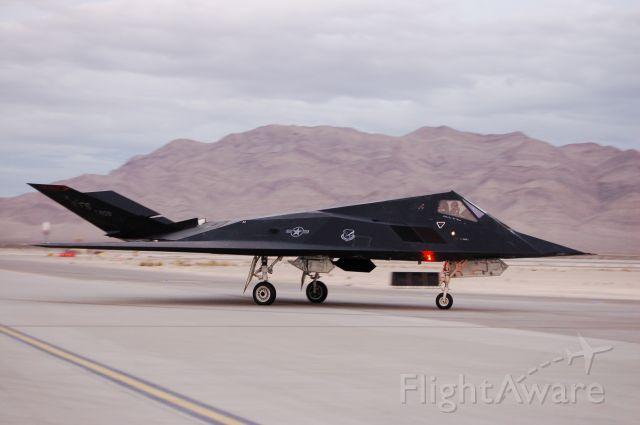 Lockheed Nighthawk — - Lockheed F-117 Nighthawk Stealth - Nellis AFB