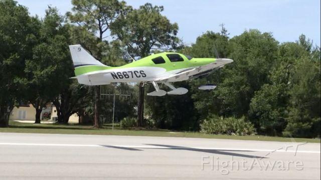 Cessna TTx (N667CS) - Cessna on departure 4/22/20