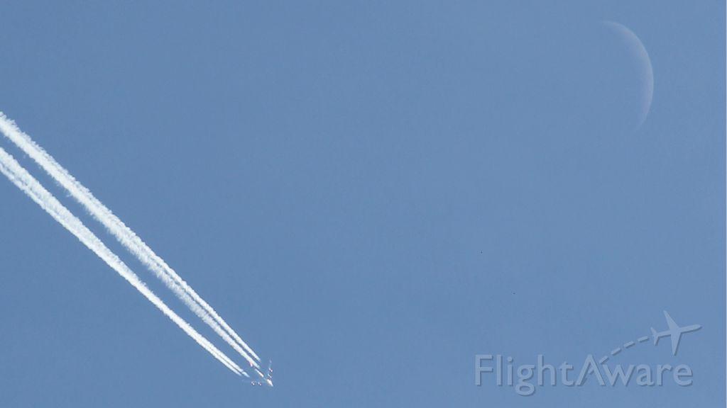 Boeing 747-400 — - Virgin Atlantic going to Orlando.