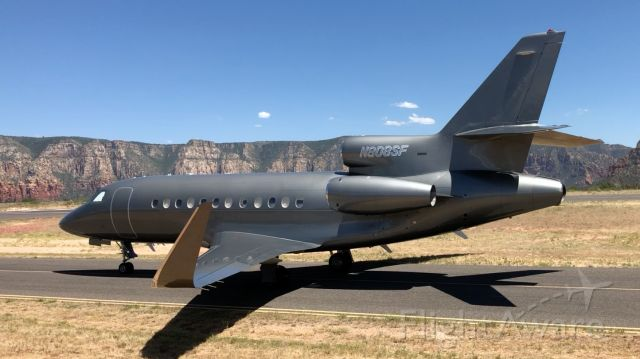 AMERICAN AIRCRAFT Falcon XP — - Beautiful visitor to Sedona today. Falcon 900EX