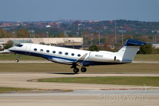 Gulfstream Aerospace Gulfstream G650 (N6453) - 30L departure.