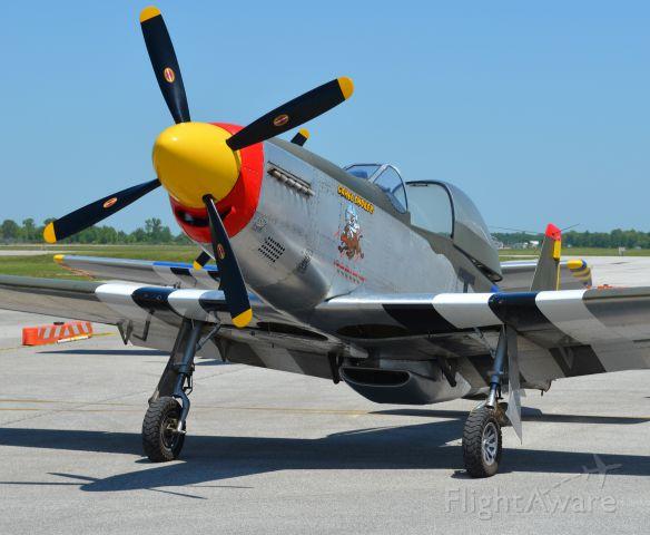TITAN T-51 Mustang (N751TX) - N751TX seen at KLPR. Please look for more photos at Opshots.net