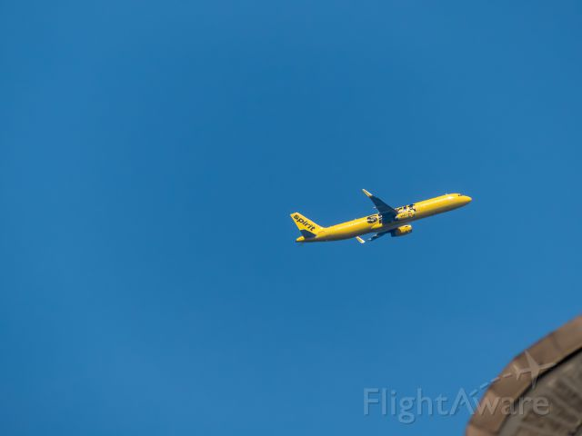 Airbus A321 (N664NK) - OVER THE BRONX