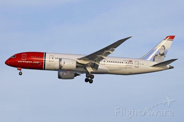 Boeing 787-8 (LN-LND) - Nor Shuttle 7147 on final to 4R