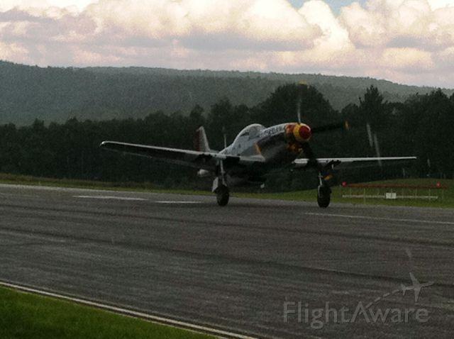 North American P-51 Mustang (N167F)