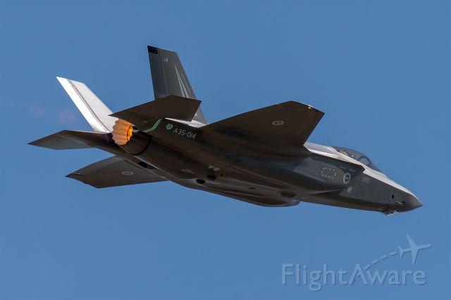 Lockheed F-35C (A35014) - NAS Fort Worth JRB