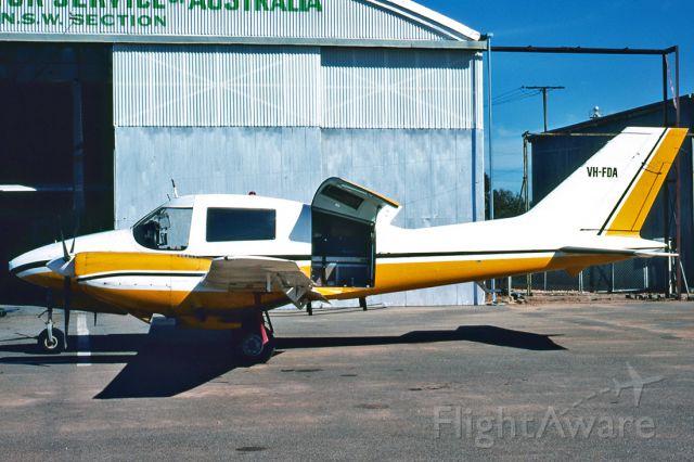 Beechcraft Super King Air 300 (VH-FDA) - BEAGLE B206-2 - REG : VH-FDA - BROKEN HILL AIRPORT NSW. AUSTRALIA - YBHI 5/11/1978