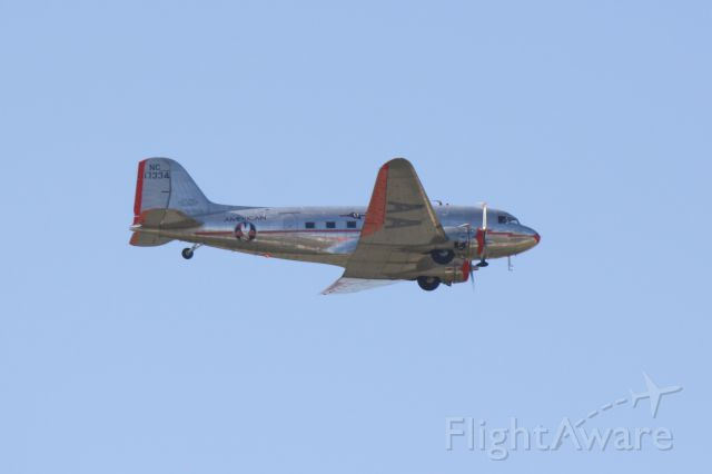 Douglas DC-3 (NAC17334) - Flagship Detroit performs at MacDill AirFest