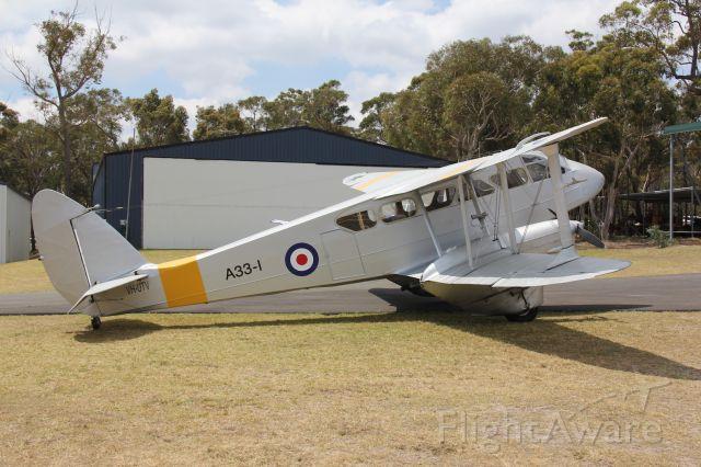 De Havilland Dragon Rapide (VH-UTV) - Photo: 04.11.2012