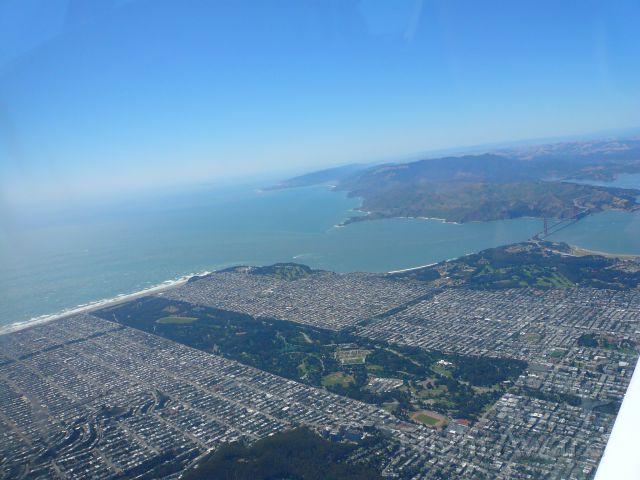 Piper Cherokee (N43434) - SF Golden Gate Park. Golden Gate.