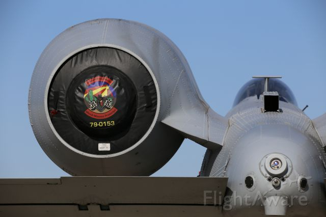 Fairchild-Republic Thunderbolt 2 (79-0153) - Thunder & Lightning Over Arizona at Davis Monthan AFB, 12 Mar 16. A-10, 79-0153