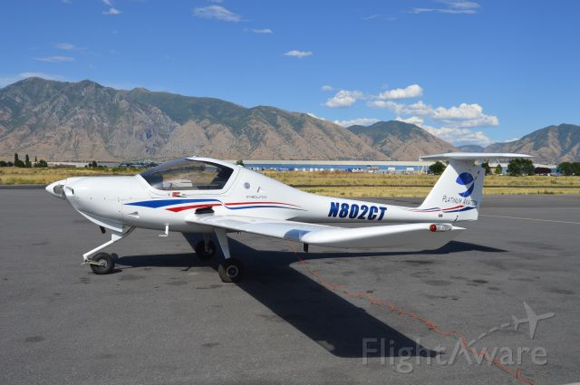 Diamond DV-20 Katana (N802CT) - About to fuel up the Katana prior to taking it up with my flight instructor.