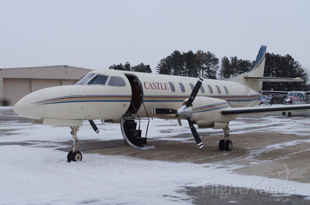 Fairchild Dornier SA-227DC Metro (CSJ54) - On the Castle ramp ready to depart for Florida.