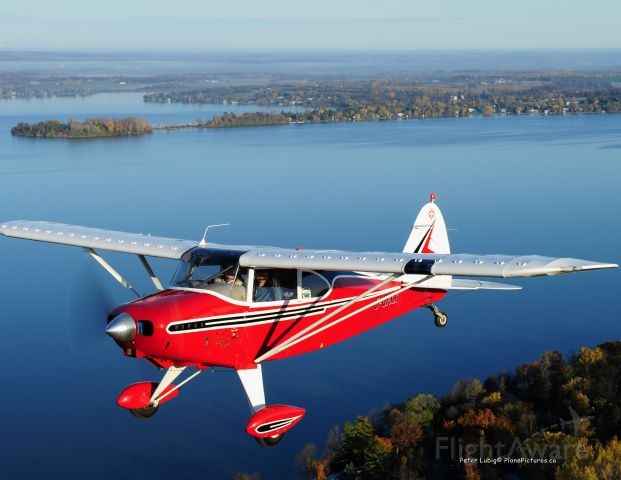 Piper PA-20 Pacer (C-GPXX) - Over S. Ontario