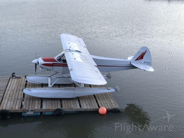 Piper L-21 Super Cub (N3898Z) - Moored at Hood River Marina