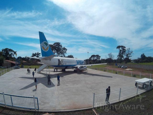 Boeing 737-200 (PP-SFI) - Chácara do Pìloto,em Araraquara.