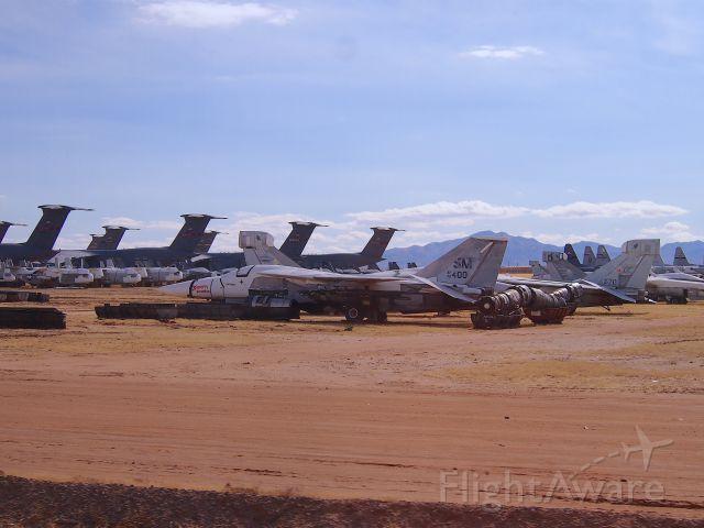 Grumman EF-111 Raven (N70400) - A visit to the Boneyard.