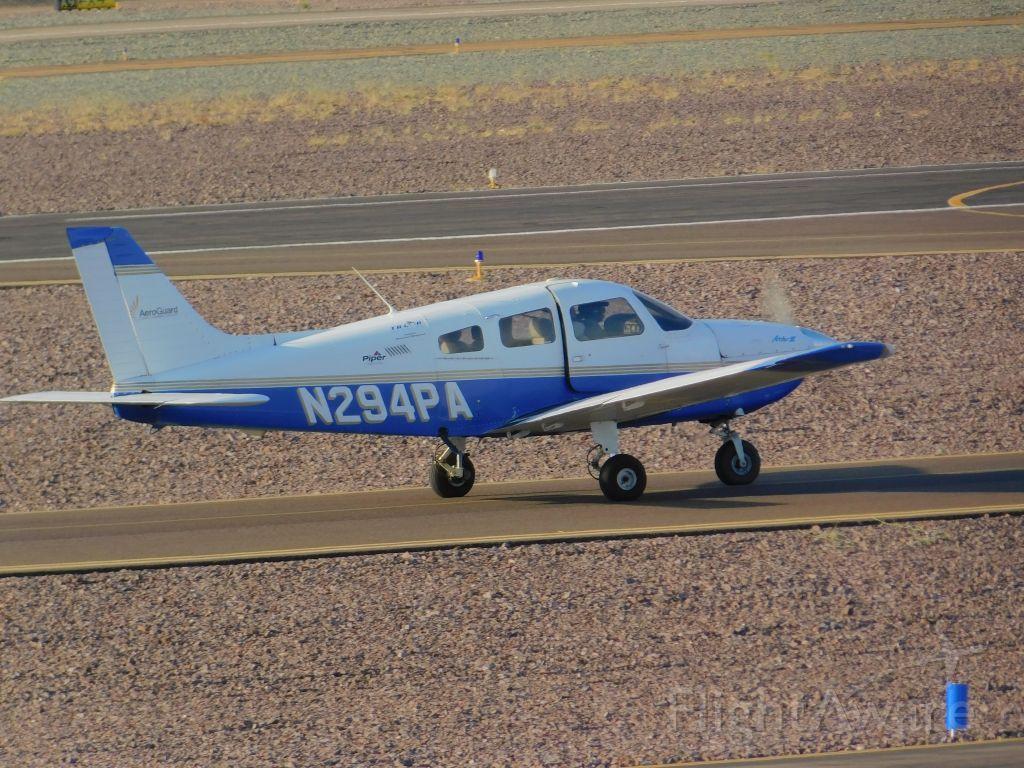 Piper PA-12 Super Cruiser (N294) - tooken at dvt yesterday when spotting