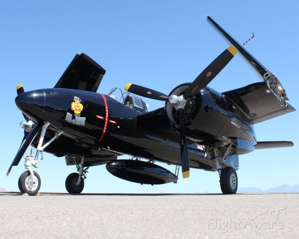 N805MB — - Not one, but TWO Grumman F7F-3