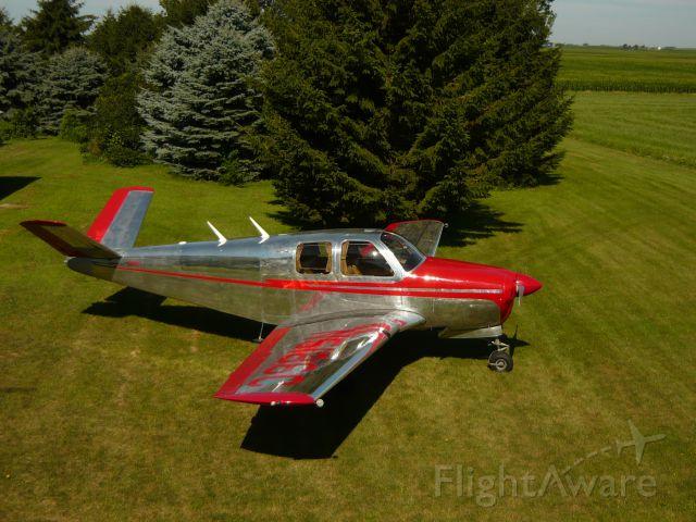Beechcraft 35 Bonanza (N5186C) - back yard