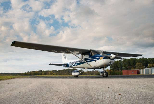 Cessna 152 (N25497) - On the ground at Gladewater Airport in Texas