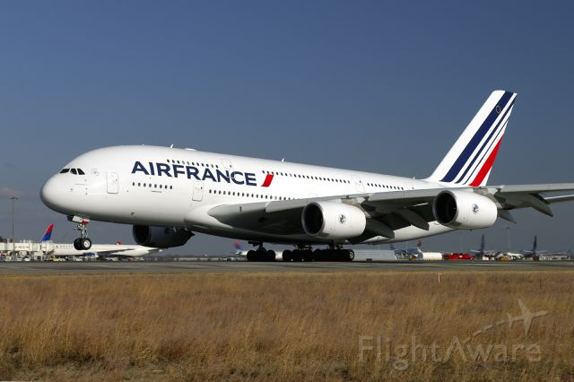 Airbus A380-800 (F-HPJA) - 1rst US arrival