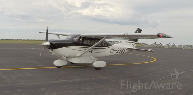 Cessna T206 Turbo Stationair (CP-2985)