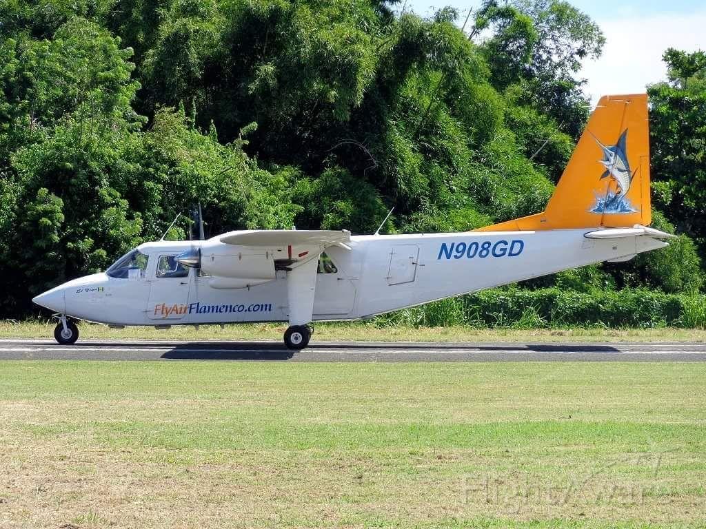 ROMAERO Islander (N908GD)