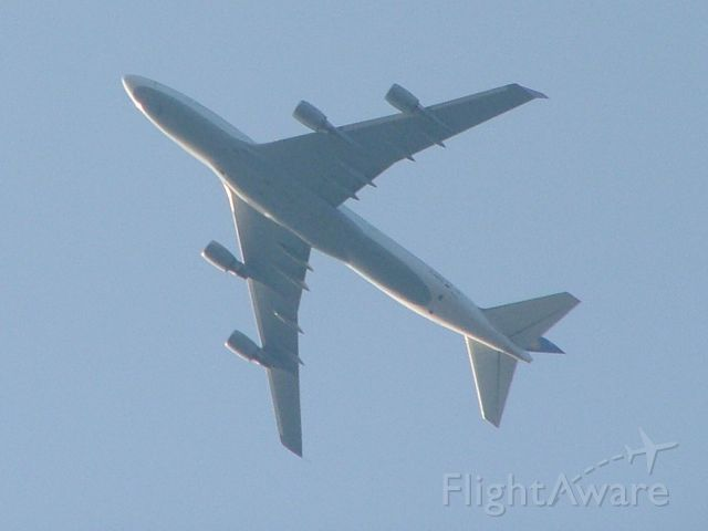 Boeing 747-400 — - Evening departure from 9R to Germany.