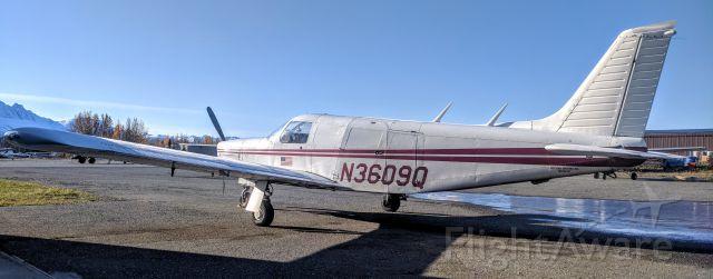 Piper Saratoga/Lance (N3609Q) - Northern Aviation terminal, Palmer Municipal Airport AK