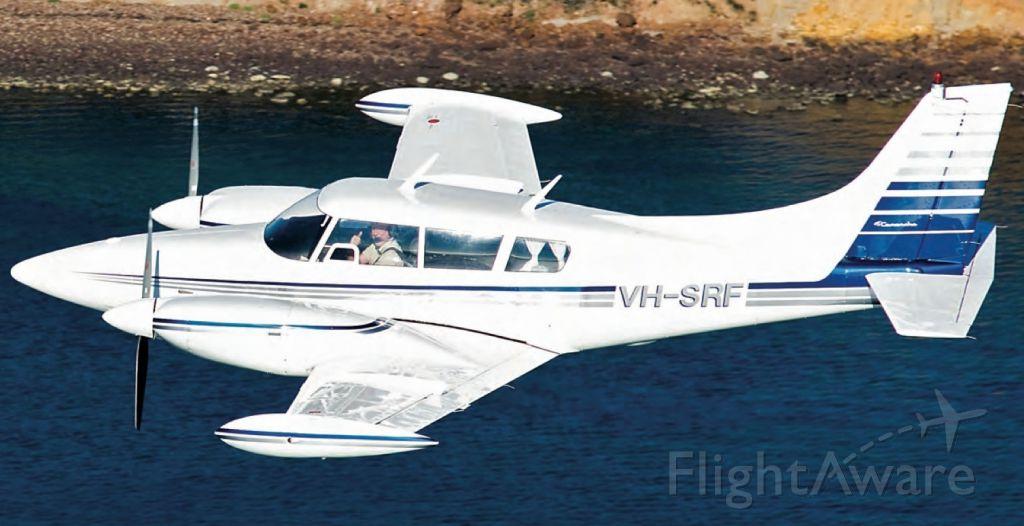Piper PA-30 Twin Comanche (VH-SRF) - over Mornington Victoria