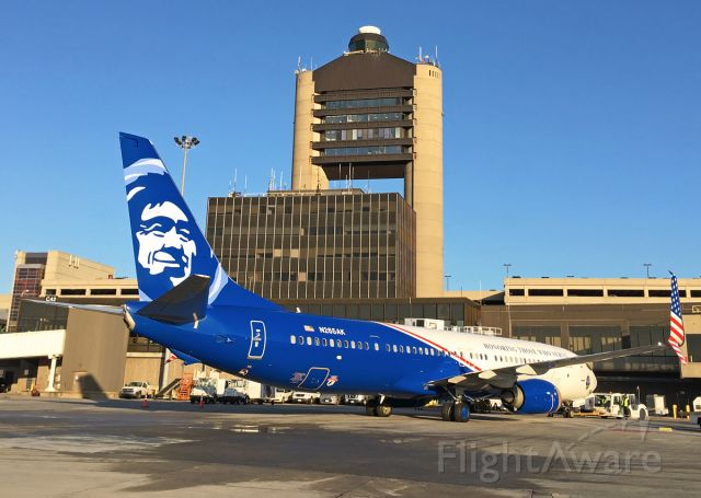 Boeing 737-900 (N265AK) - Honoring those who serve -Special livery