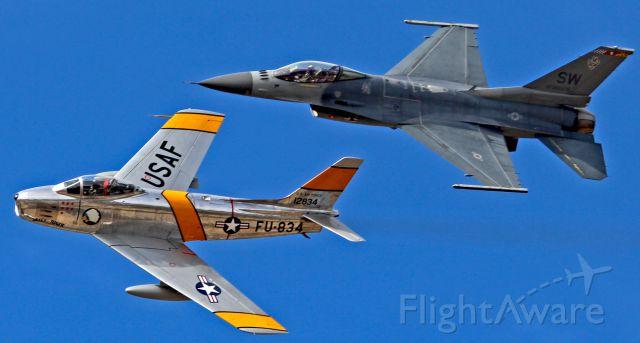 North American F-86 Sabre (FZA834)