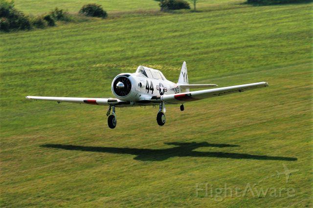 North American T-6 Texan (N7519U) - T-6 on the Take-Off