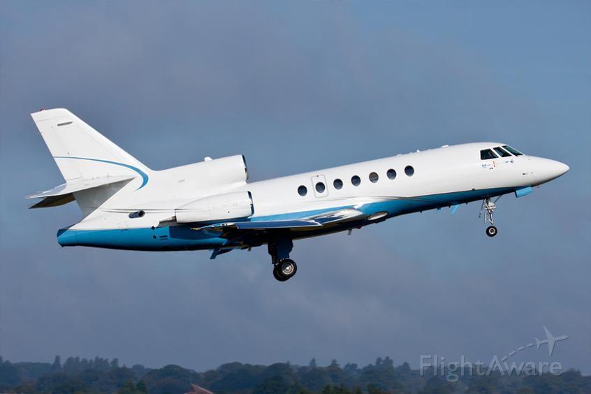 Dassault Falcon 50 (VH-FJQ) - Expecting the new arrival to Bankstown Airport Sydney today Jun 19