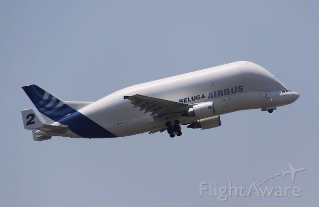 SATIC Super Transporter (F-GSTB) - Airbus-Beluga