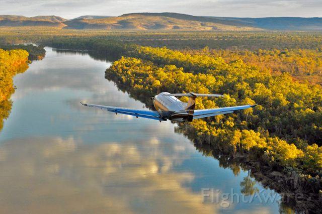 Pilatus PC-12 (VH-FMM)