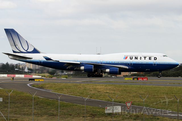 Boeing 747-400 (N120UA) - ON 24 NOV 2012