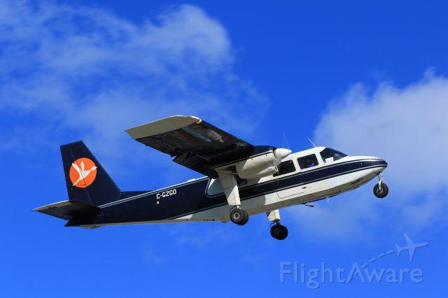 ROMAERO Islander (C-GZGO) - C-GZGO departing TNCM St Maarten