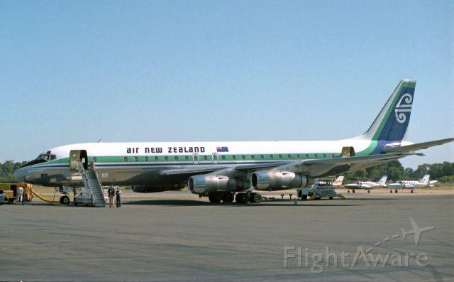 McDonnell Douglas Jet Trader (ZK-NZE) - Adelaide, South Australia, October 12, 1981.