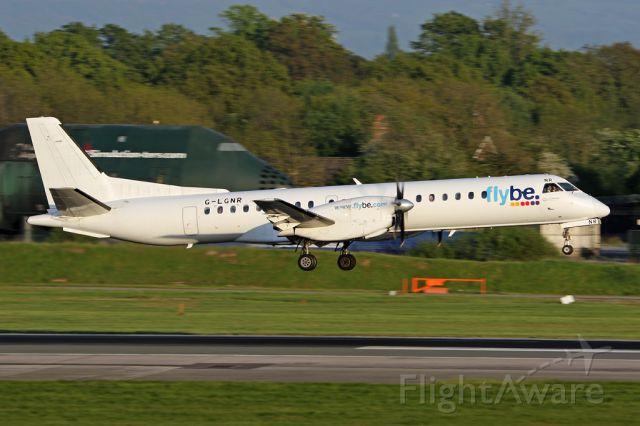 Saab 2000 (G-LGNR) - LOG6977 arriving from Inverness.