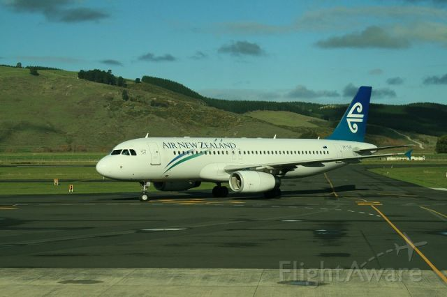 Airbus A320 (ZK-OJG) - Flight from Brisbane To Dunedin
