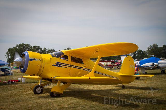 Beechcraft Staggerwing (N27E) - Vintage parking, EAA Airventure 2012, Oshkosh, WI