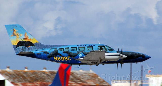 Cessna 402 (N69SC) - 11/24/2012